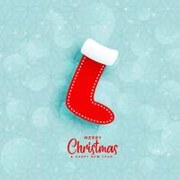 blue background with christmas winters socks