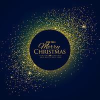 fantastischer Glitzerhintergrund mit Weihnachts- und Neujahrswünschen
