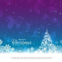 beautiful christmas greeting card design background