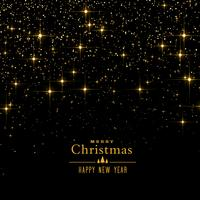 black background with sparkles and glitter for christmas festiva