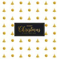 Premium Weihnachten Festival Muster Design-Hintergrund