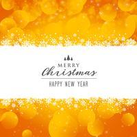 Fundo brilhante festival de Natal feliz