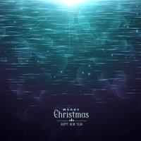 glänzender Weihnachtshintergrund im blauen Schatten