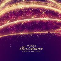 luxury sparkles for merry christmas festival seasonal background