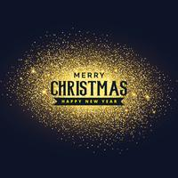 merry christmas glitter background design
