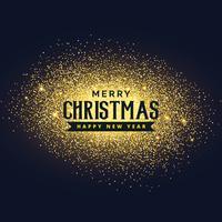 Glitter-Hintergrunddesign der frohen Weihnachten