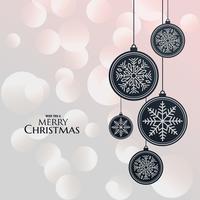 Lámparas colgantes elegantes para festival de navidad.