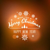 clean merry christmas background design illustration