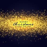 Fondo abstracto brillo de destellos dorados para navidad festiv
