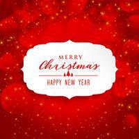 hermoso fondo rojo para el festival de navidad