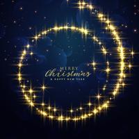 vacker festival glitter virvel bakgrund för jul säsong