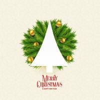 Hermoso fondo feliz navidad con arbol y dorada navidad b