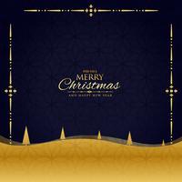 vacker jul hälsning lyxbakgrund