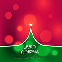 fantastisk kreativ julgransdesign hälsning