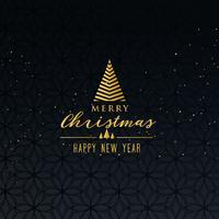 einfacher erstklassiger Grußentwurf der frohen Weihnachten auf dunklem backgroun