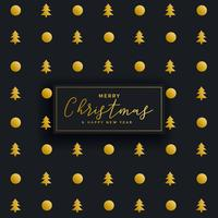 premium dark christmas pattern design background