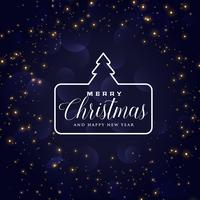 blue christmas holiday background design