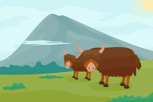 Free Iconic Yak Vector