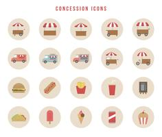 Free Concession Vectors