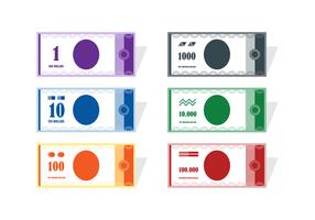 Flat Sample Money Vectors