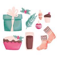 Vector Winter Cozy Essentials