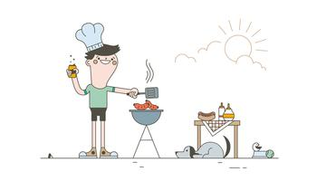 Free Barbecue Vector