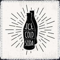 Free Hand Drawn Soda Vector Background