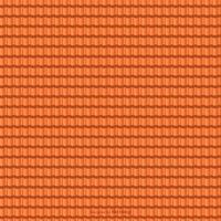 Terracotta Roof Tile Vector Seamless Pattern