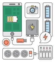 Power Source Vector Elements