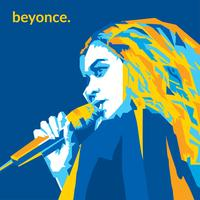 beyonce free vector