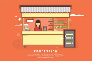 Concession Illustration