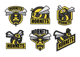 Hornets Vector Icons