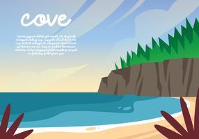 Cove Background Illustration