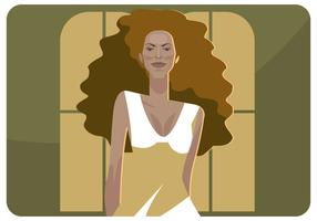 Vecteur d'illustration de Beyonce