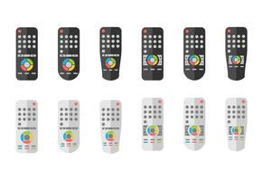 Remote Control Or Tv Remote Icons