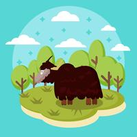 Vector Yak Animal gratuito