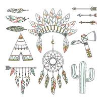 Estilo tribal decorativo de Boho