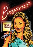 Beyonce Poster Vector