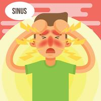 Sinus Vector Illustration