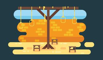 Gratis Gallows Vector