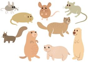 Free-cute-wild-rodents-vectors
