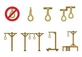 Free Gallows Vector Collection