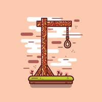 Free Gallows Vector