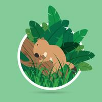 Ilustración de Cute Gopher gratis