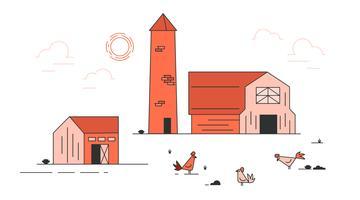 Kostenlose Bauernhof Vektor