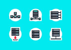 Paquete de vectores gratis de base de datos