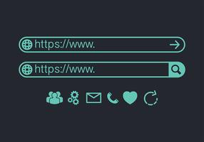 Address Bar Vector