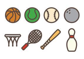 Vector icono de deporte