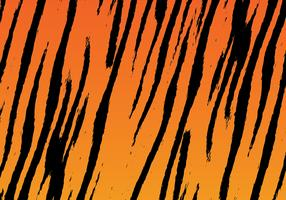Tiger Stripe Background Vector