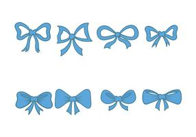 Fun Hair Ribbon Icon Vector